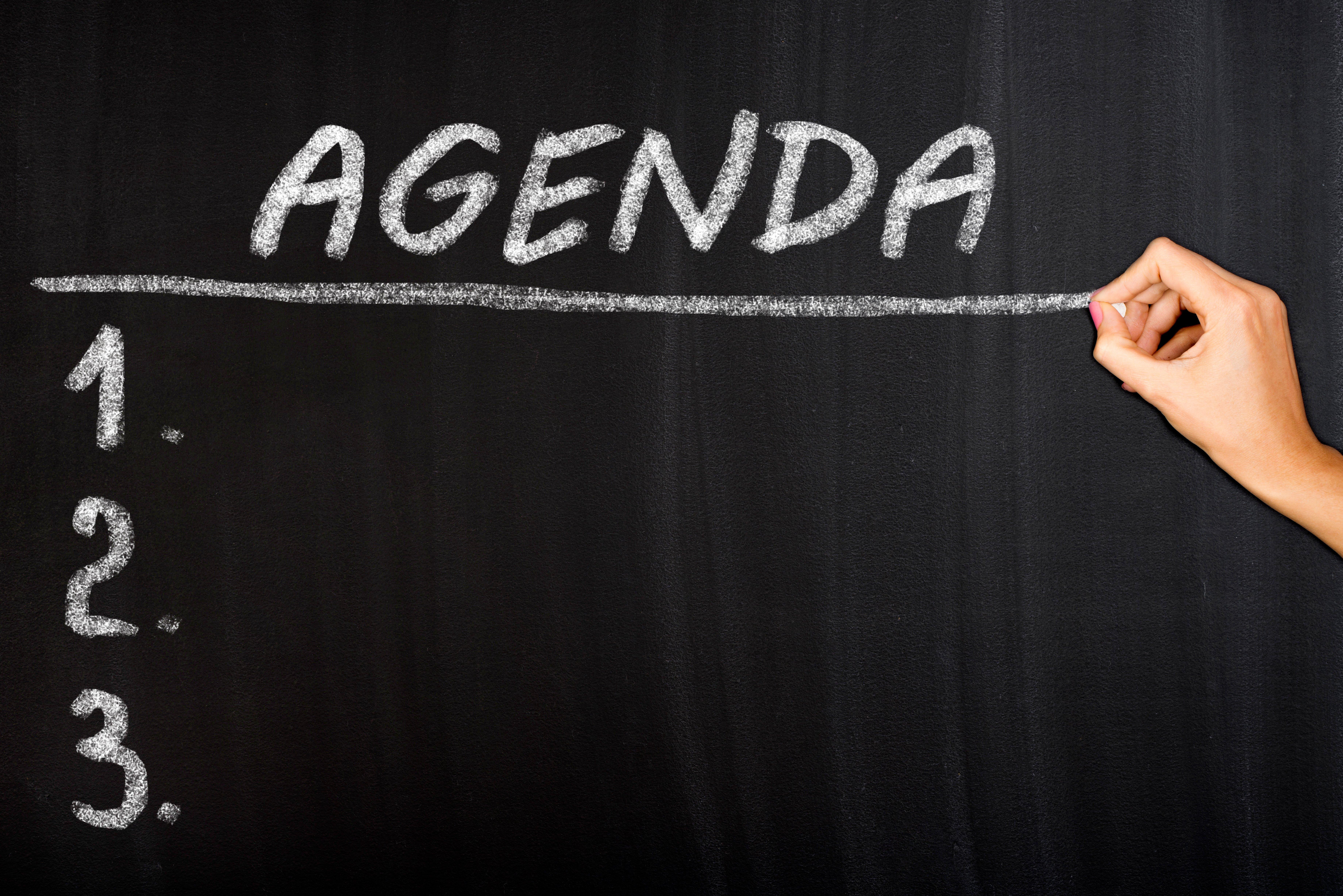 Agenda iStock-660613580
