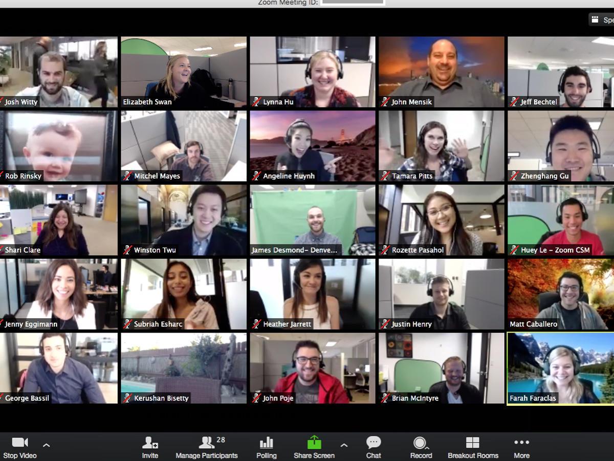 MS Teams Company Meeting 2020.04.21